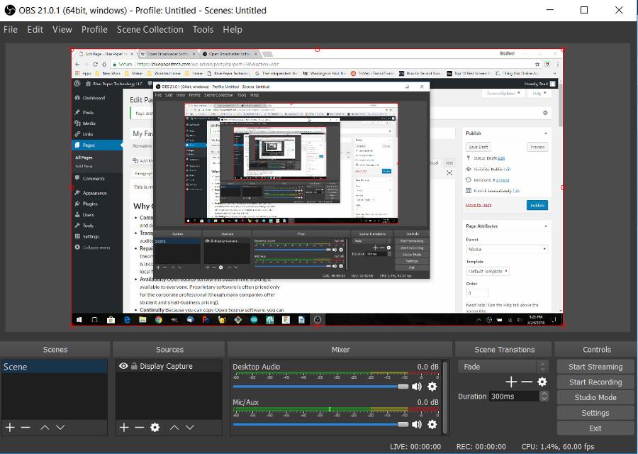 OBS Studio screen shot