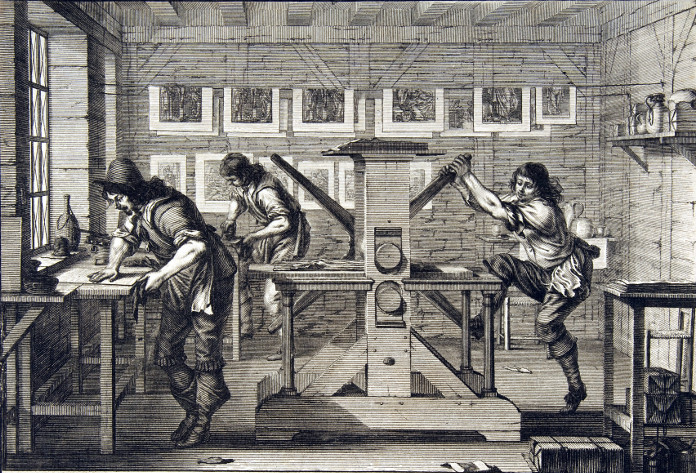 The Intaglio Printers, by Abraham Bosse