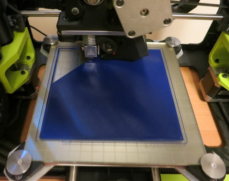 Printing the first layer