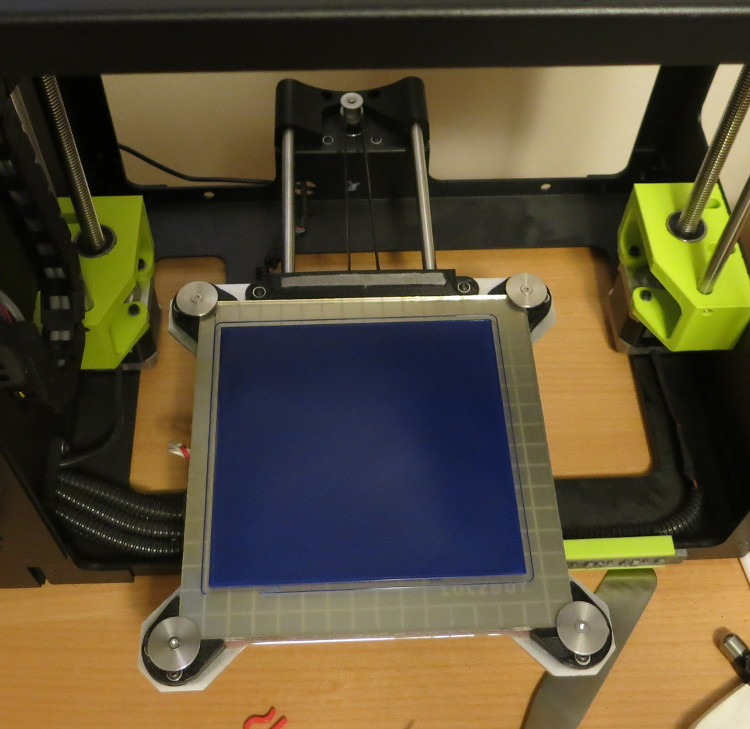 It printed a 138 mm x 131 mm rectangle with no sweat