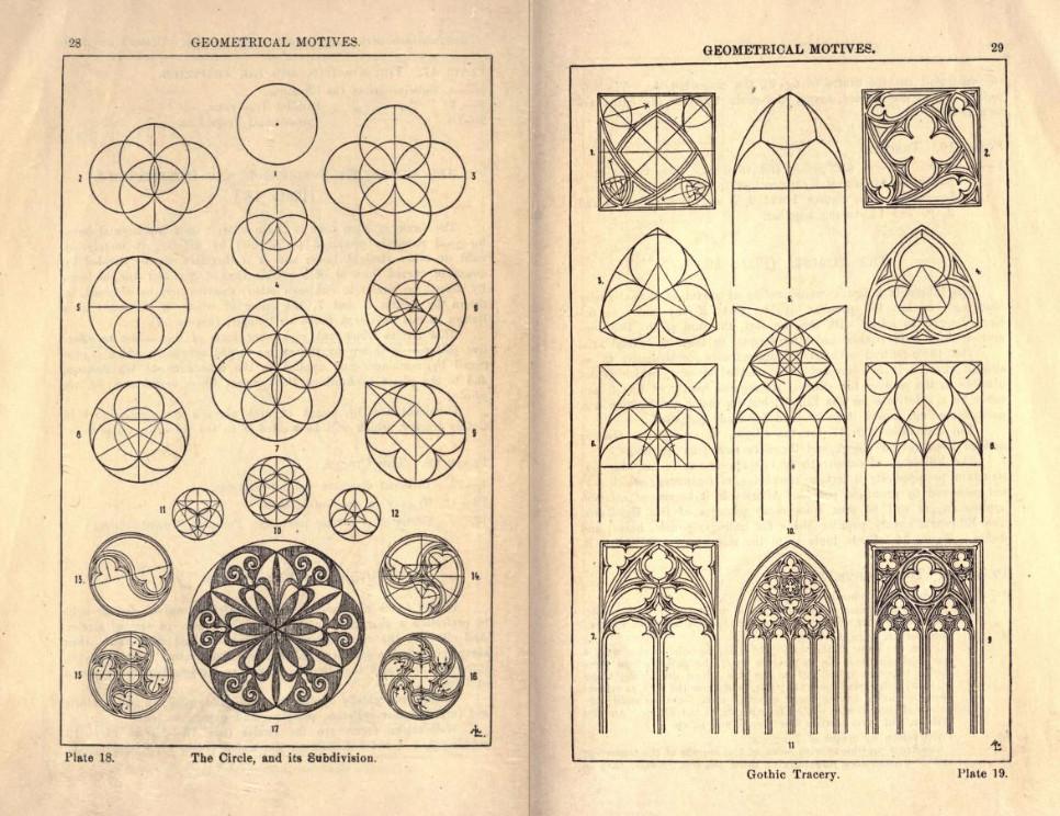 From Meyer's Handbook of Ornament, via Internet Archive