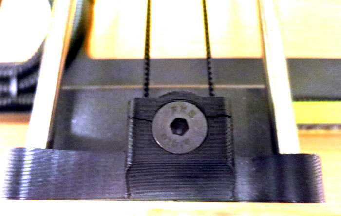 Printer Y Axis support stress fracture