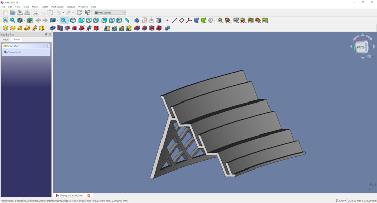 Designing a 3D Printable part using FreeCAD